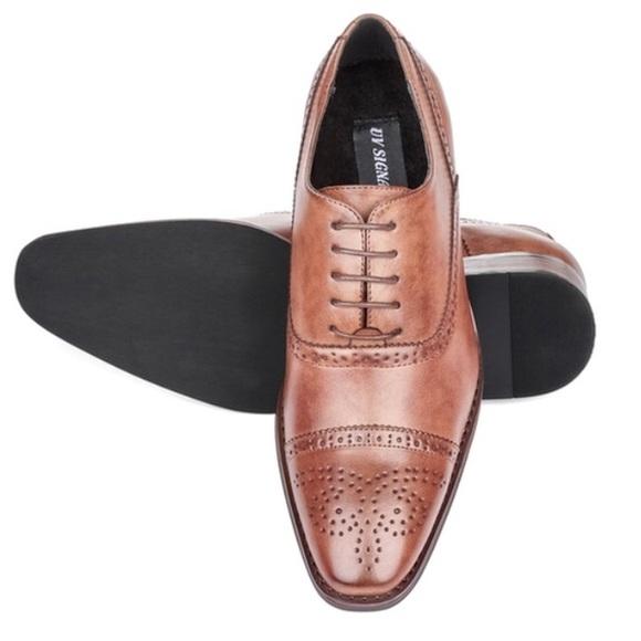 e5de45eee2e Men's 10.5M UV Signature Brown Oxford Dress Shoes